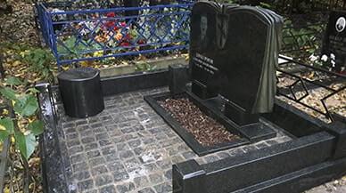 Выполнили полное благоустройство могилы